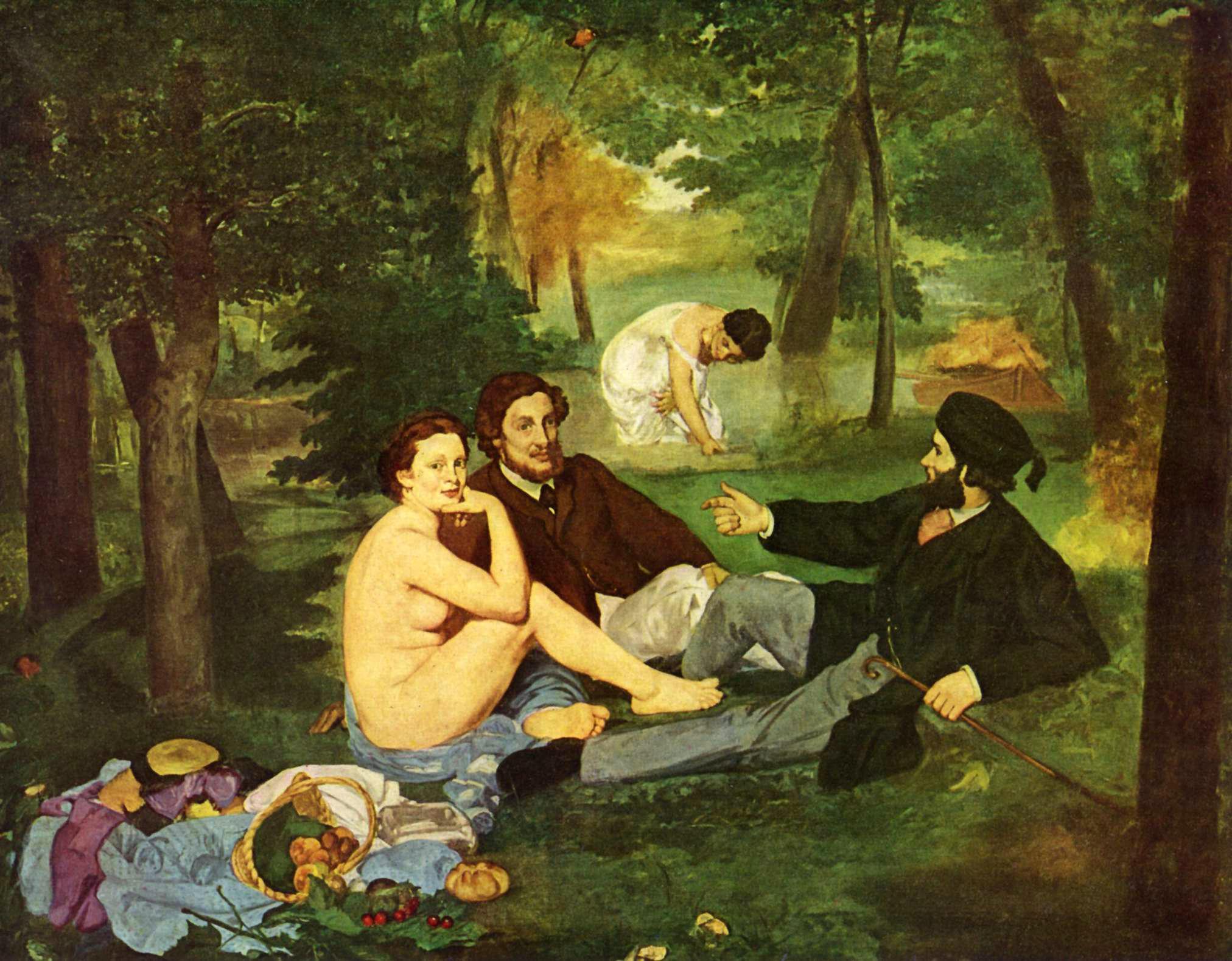 Manet Edouard Manet La Comida en la Hierba
