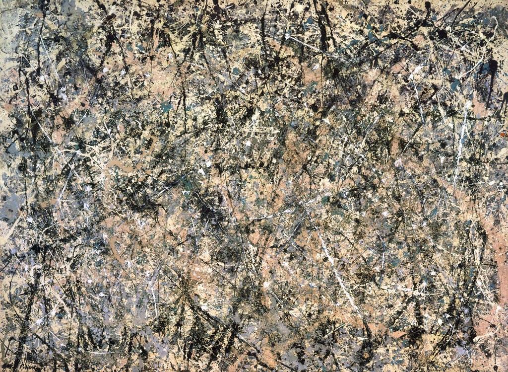 Pollock Lavender Mist 1950