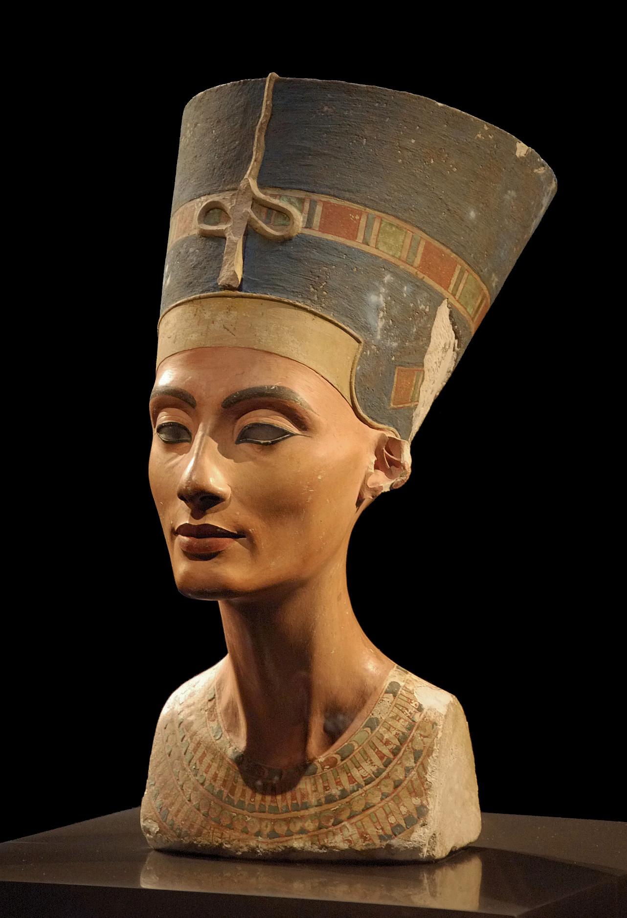 Thutmose, Bust of Nefertiti, 1345 BC