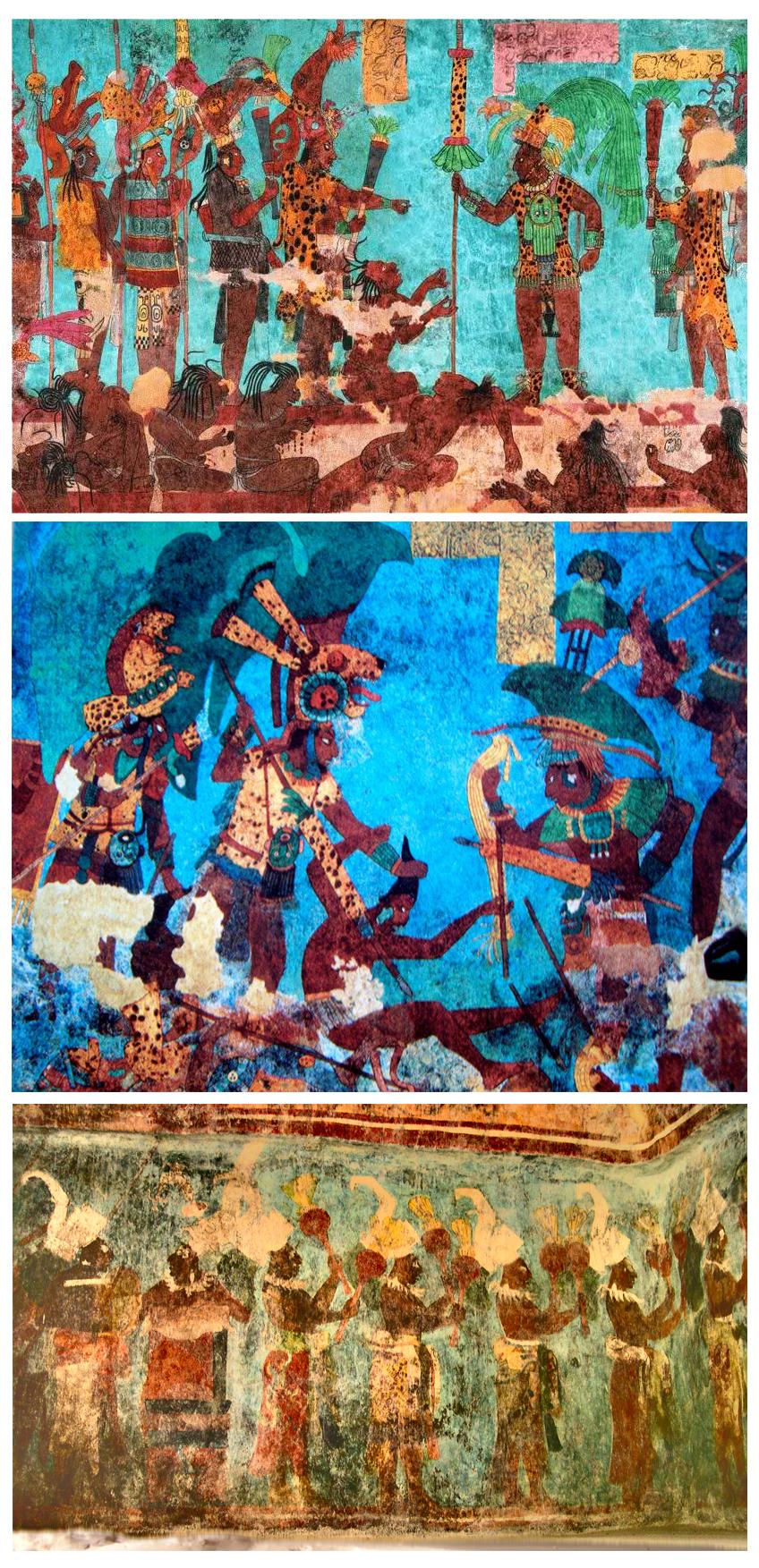 Murales de Bonampak
