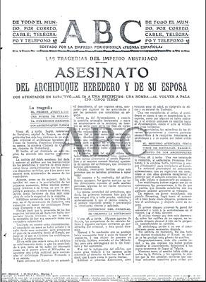 ABC Asesinato en Sarajevo