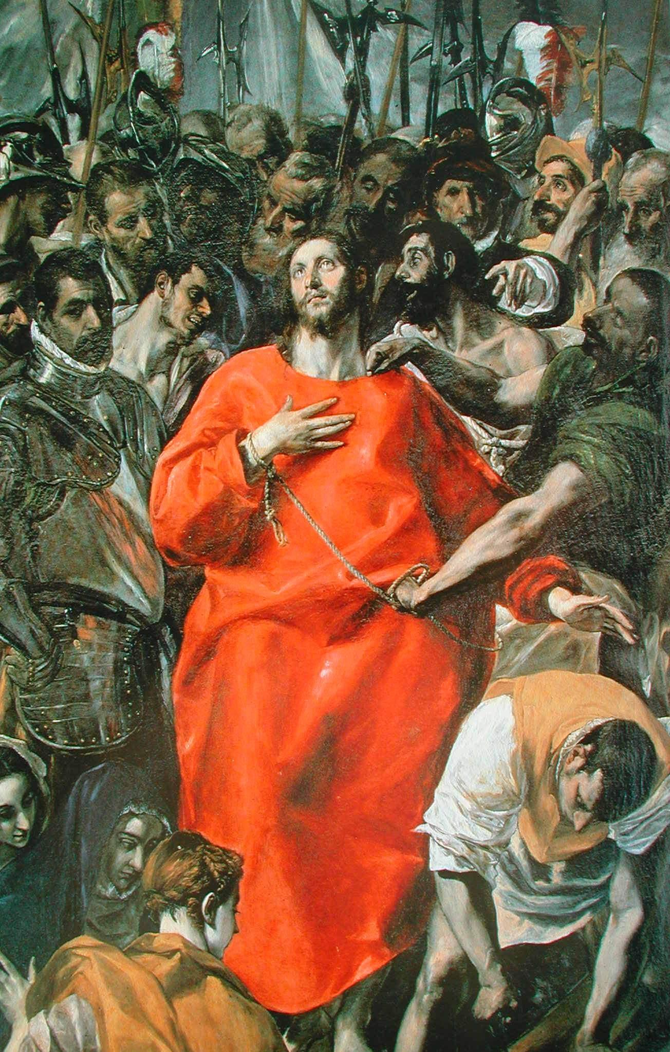 El Greco (El Expolio de la catedral de Toledo)
