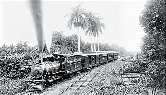 Ferrocarril en 1920