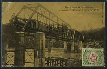 Puente sobre el Motagua