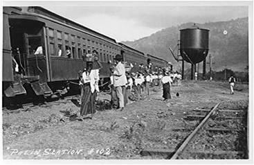 Estación de Palín.