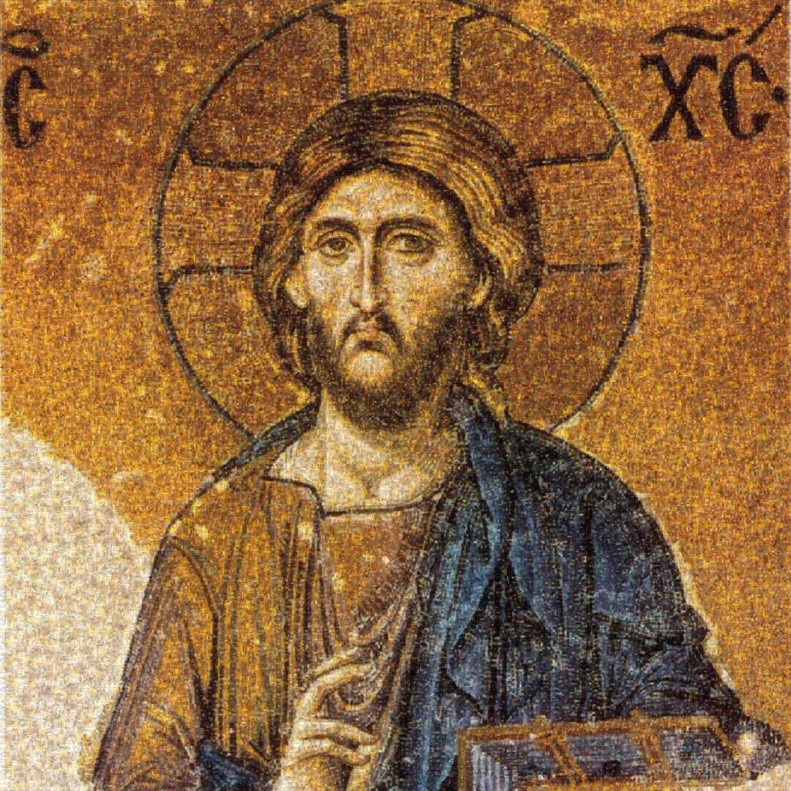 Pantocrátor. Mosaico bizantino, 1261.
