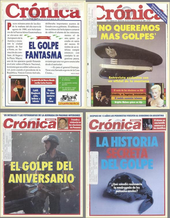 Revista Crónica Los golpes de Estado