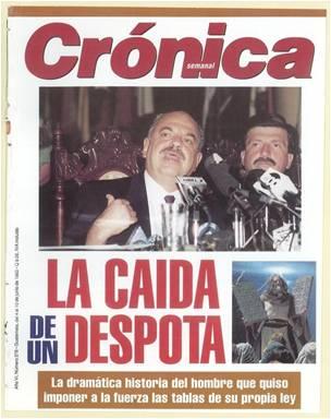 Crónica y Serrano Elías