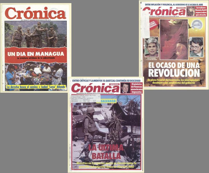 Crónica y Nicaragua