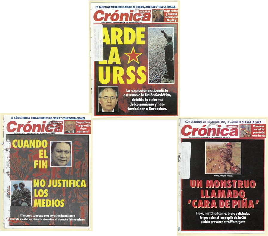 Crónica y el mundo