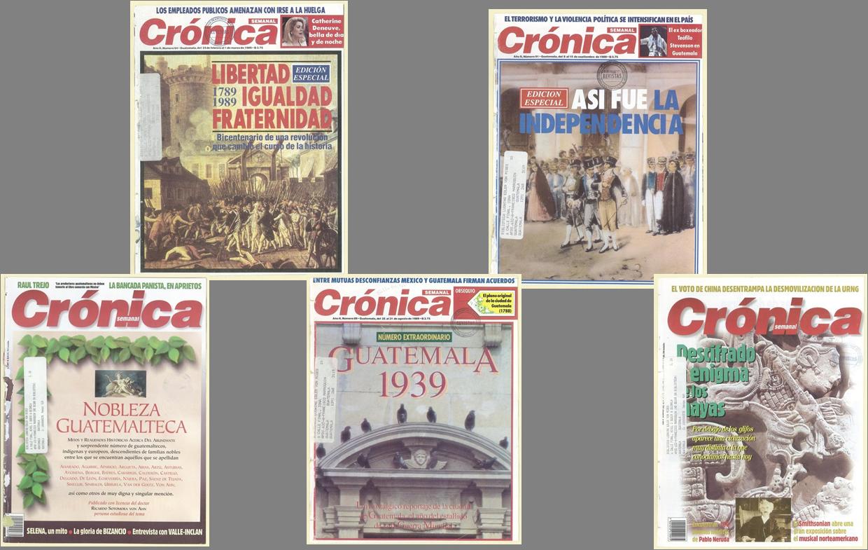Crónica, momentos