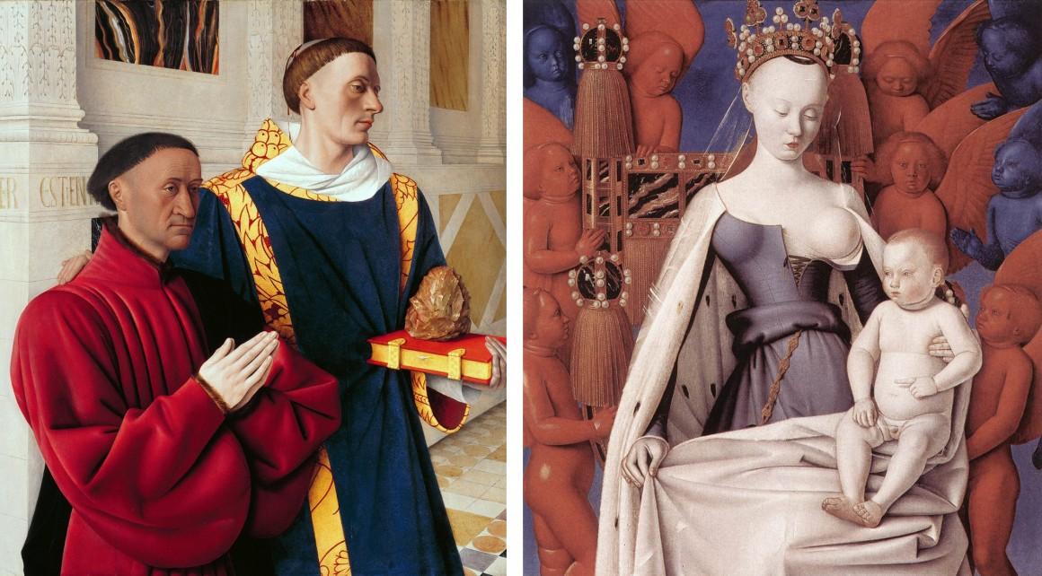 Fouquet Díptico de Melun