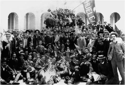 Estudiantes Huelga de Dolores