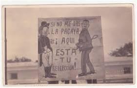 Huelga de Dolores, carteles
