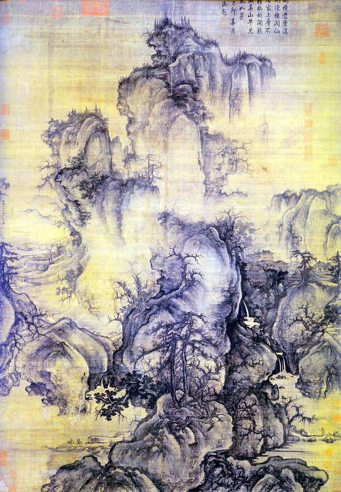 Primavera reciente (1072), de Guo Xi,
