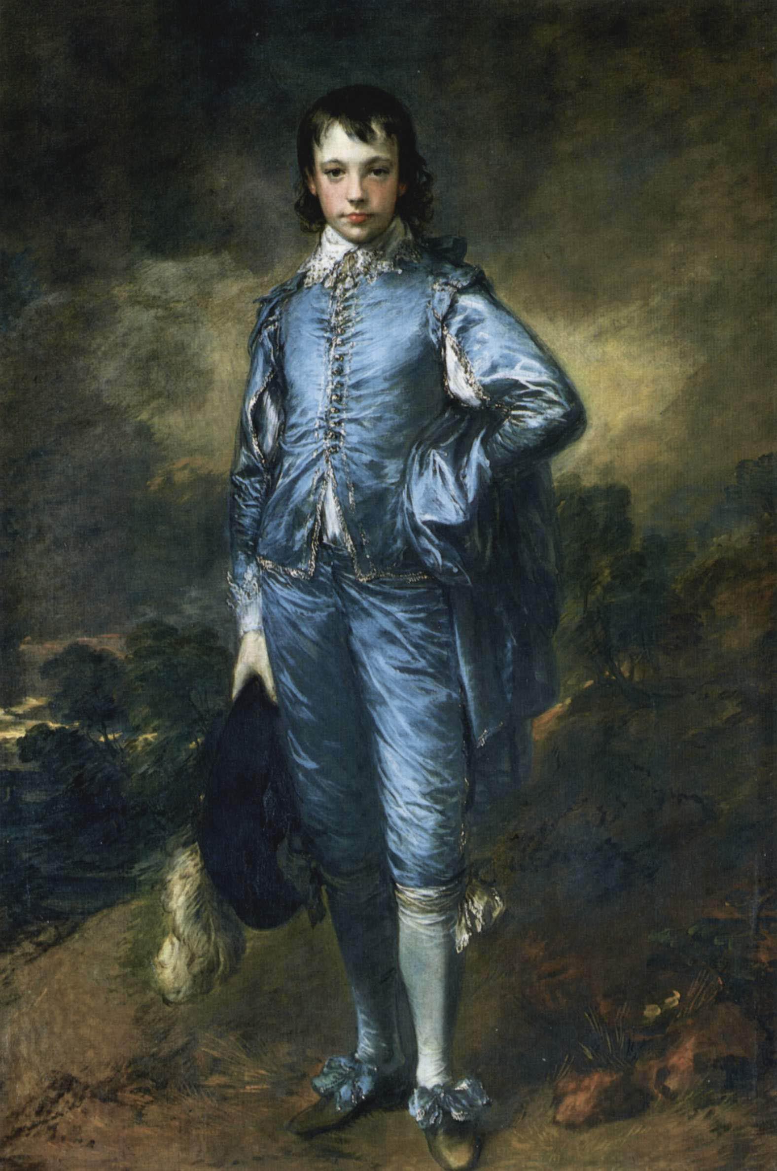 Thomas Gainsborough  1770BlueBoy