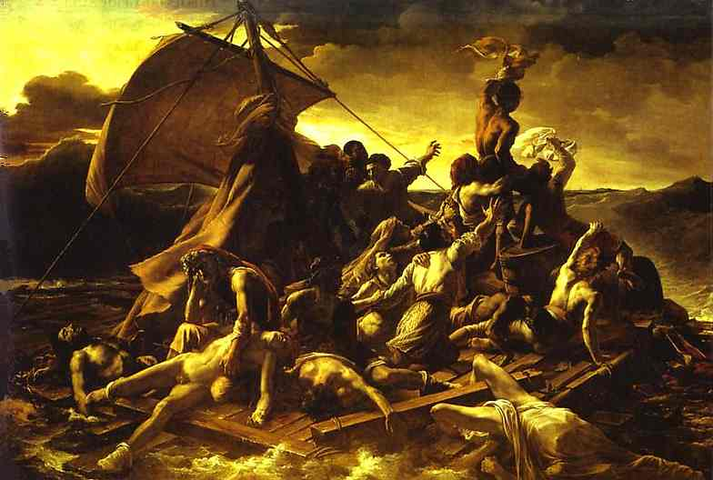 Gericault. The Raft of the Medusa. 1818-1819