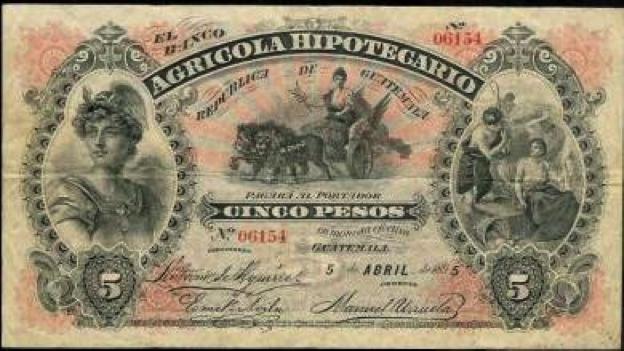 Banco Agrícola Hipotecario, emisión 1895
