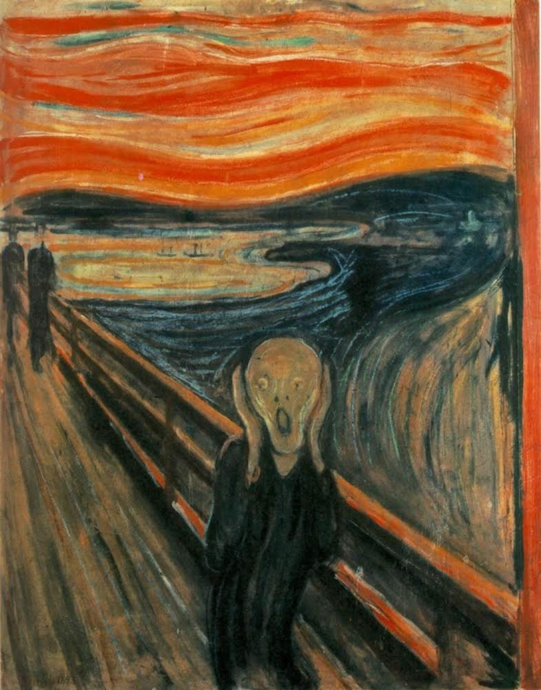 El grito, Edvard Munchen