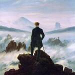 Caspar_David_Friedrich. l caminante sobre el mar de nubes 1817-1818.