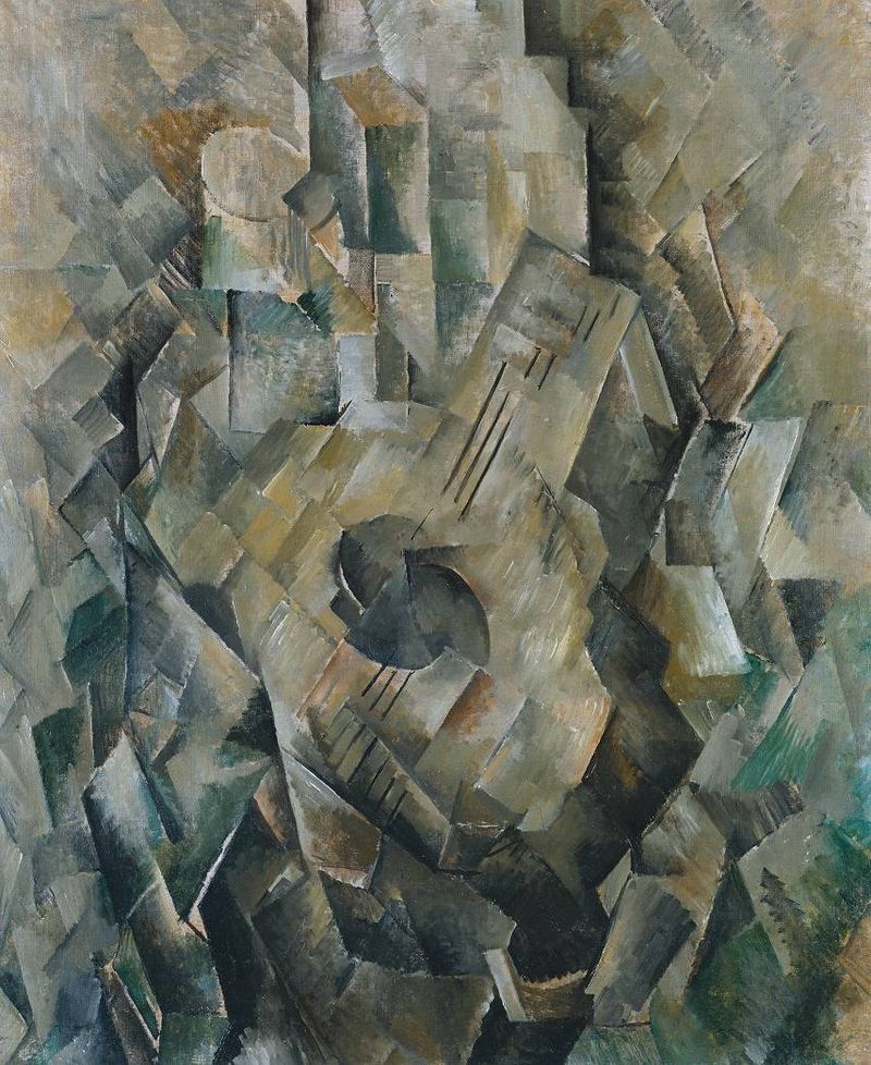 800px-Georges_Braque,_1909-10,_La_guitare_(Mandora,_La_Mandore),_oil_on_canvas,_71.1_x_55.9_cm,_Tate_Modern,_London