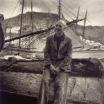 Henry Miller, en la isla de Hidra.