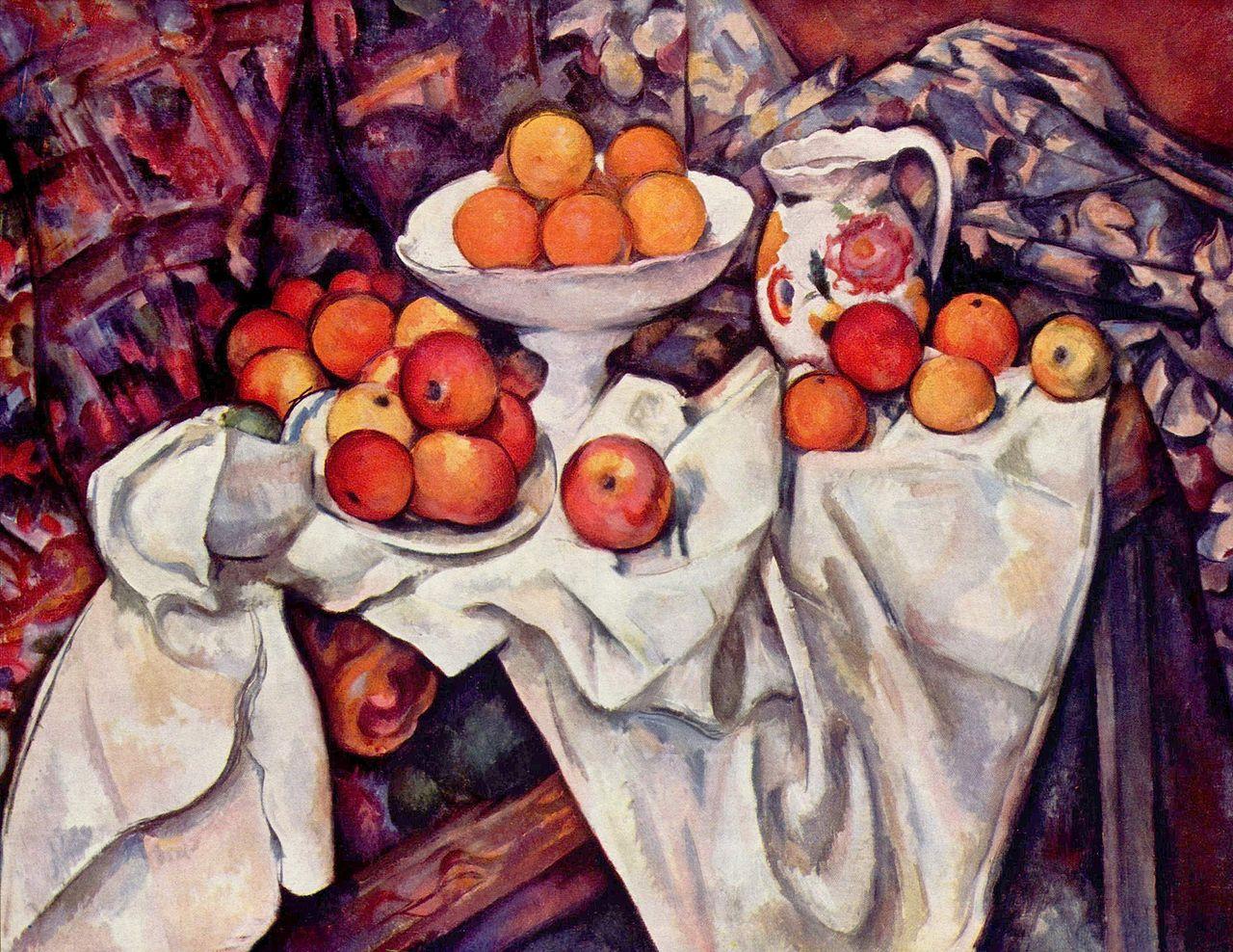 Bodegon Cezanne 1895