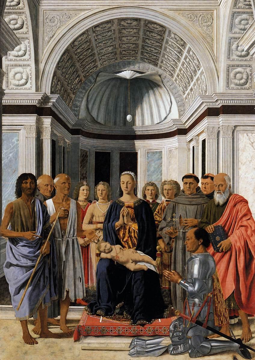 Piero della Francesca madonna_20and_20child_20with_20saints