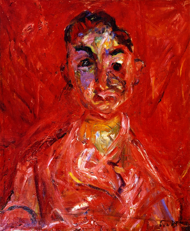 Soutine, joven carnicero 1919