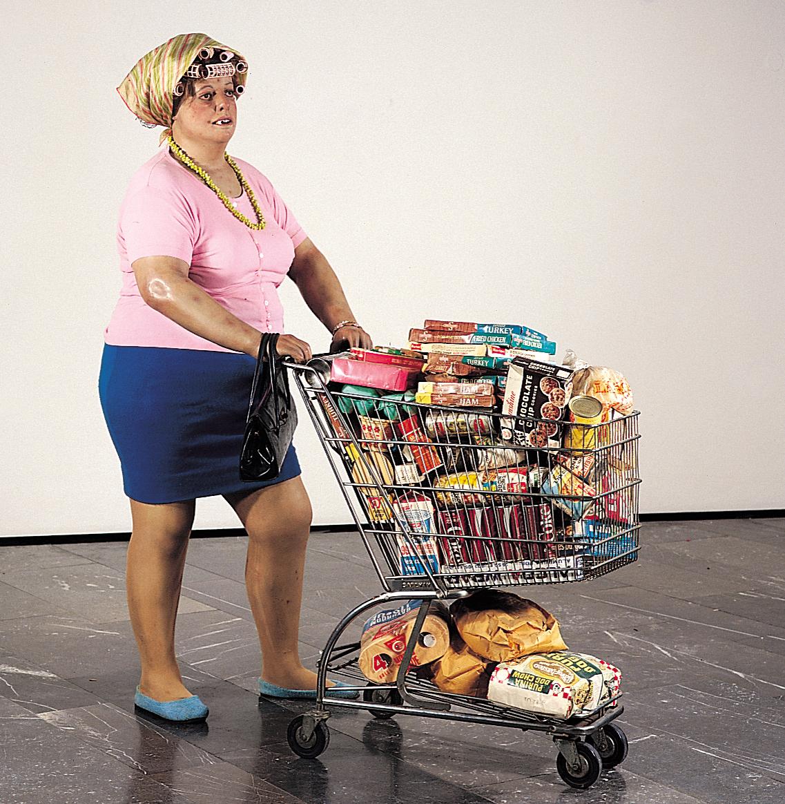 Duane-Hanson-supermarketlady