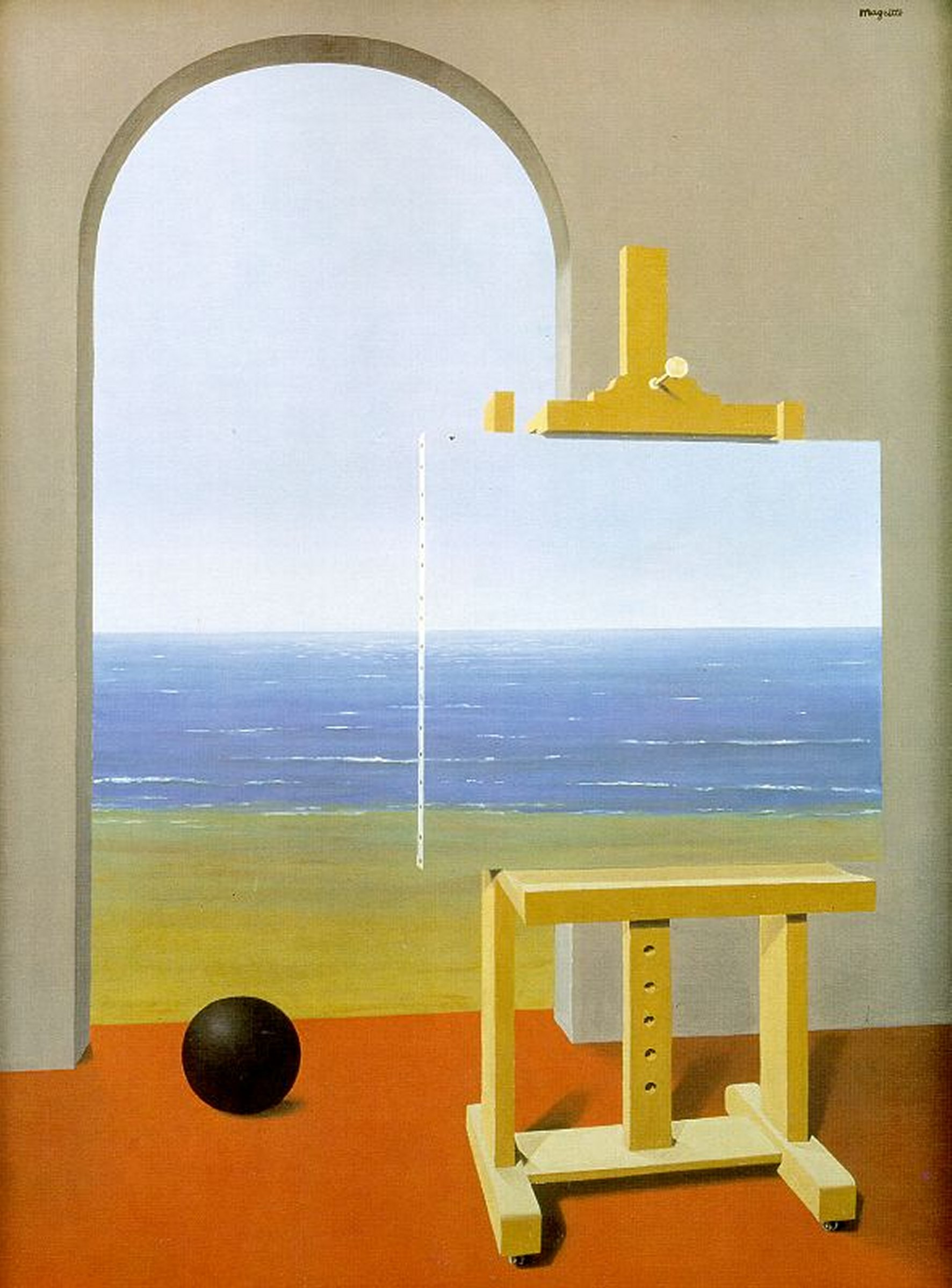 La_Condicion_Humana_Magritte