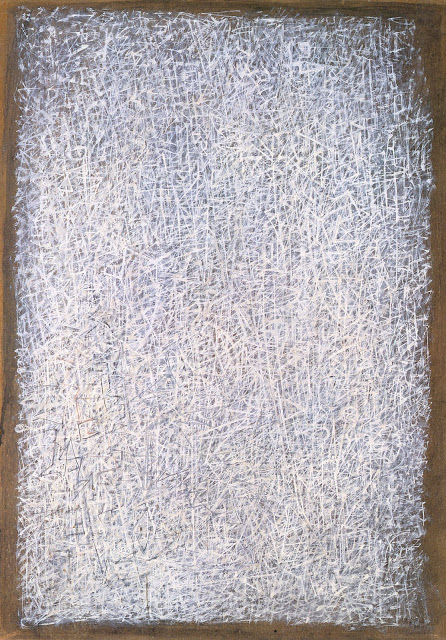 Tobey.Space.Ritual.1957.Sumi ink on Japanese paper