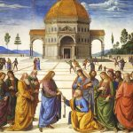 Entrega de las llaves a San Pedro, h. 1482, fresco