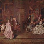 La muestra de Gersaint, Watteau