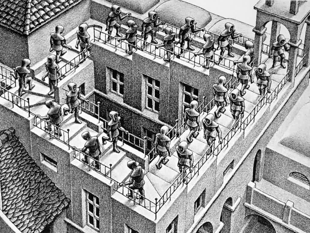 Escher-Sube-y-baja